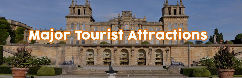 Major Tourist Attractions in North Oxfordshire