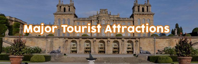 Major Tourist Attractions in North Oxfordshire