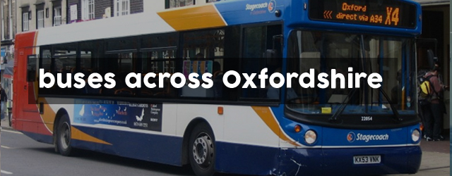 buses across Oxfordshire
