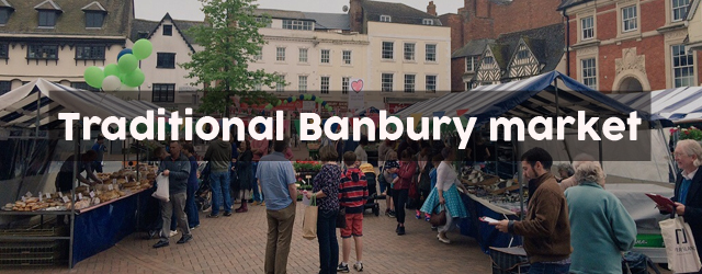 traditional Banbury market