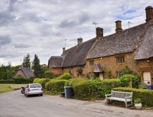 The beauty of a North Oxfordshire village.
